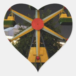 Fun in Turkmenistan Heart Sticker