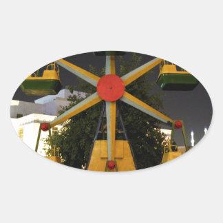 Fun in Turkmenistan Oval Sticker