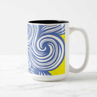 Fun Intelligent Fun Unique Two-Tone Coffee Mug