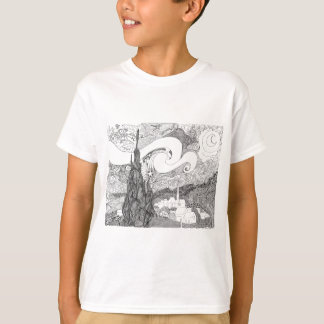 Fun interpretation of Starry Starry Night T-Shirt