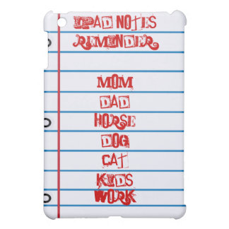 Fun iPad Reminder Notes Speck® iPad Case