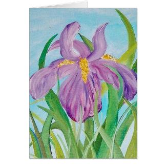 Fun Iris Note Card