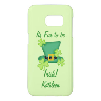 Fun Irish St. Patrick's Day Name Personalized Samsung Galaxy S7 Case