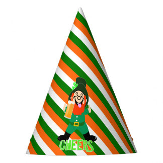 Fun Irish Themed  Lucky Leprechaun Party Party Hat