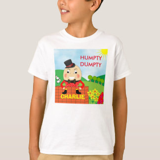 Fun Jolly Humpty Dumpty Cute Personalized T-Shirt
