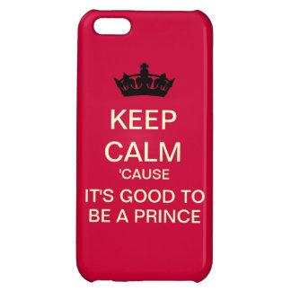 Fun Keep Calm Royal Baby iPhone 5 Case