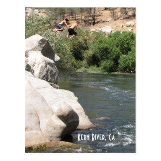 Fun Kern River Postcard! Postcard