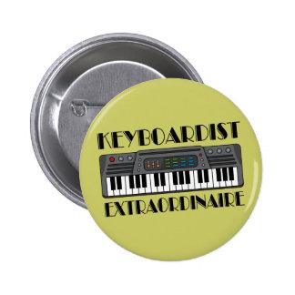Fun Keyboardist Extraordinaire Music Gift 2 Inch Round Button