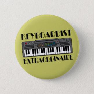 Fun Keyboardist Extraordinaire Music Gift Pinback Button
