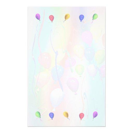 Fun Kids Balloons Stationery