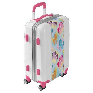 Fun kids unicorn pattern travel luggage