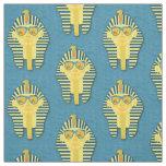 Fun King Tut Pattern Fabric
