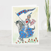 "Fun ""Knight in Shining Armour"" Valentine's Card"