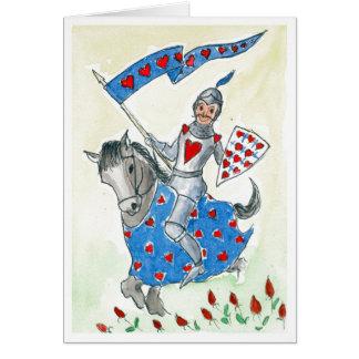 "Fun ""Knight in Shining Armour"" Valentine's Card"