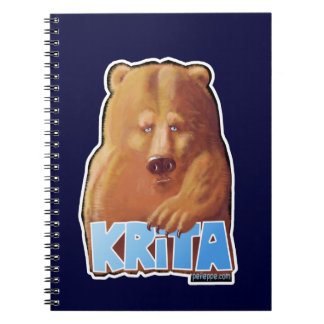 Fun Krita Bear Notebook