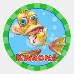 Fun Kwacka Stickers