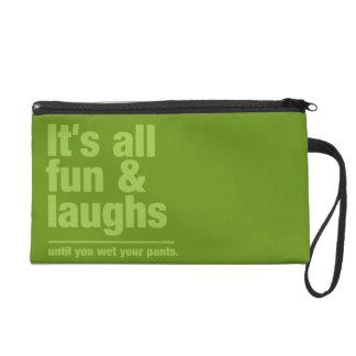FUN & LAUGHS custom color accessory bags
