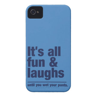 FUN & LAUGHS custom color iPhone case-mate iPhone 4 Case