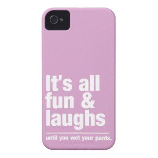 FUN & LAUGHS custom color iPhone case-mate iPhone 4 Cover