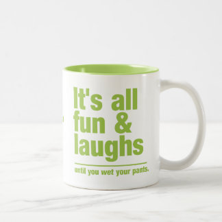 FUN & LAUGHS custom mugs