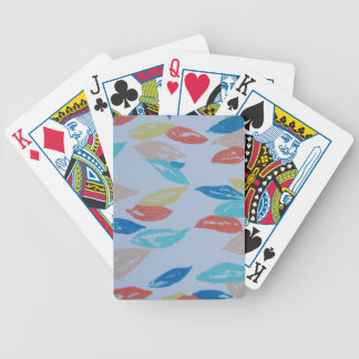Fun Leaves Bicycle Playing Cards
