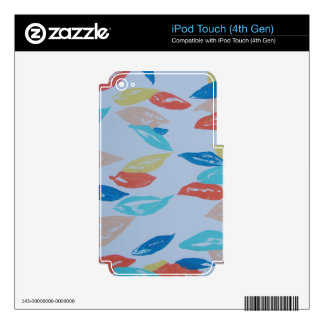 Fun Leaves iPod Touch 4G Decal