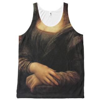 "Fun Leonardo Da Vinci ""Mona Lisa""… All-Over Print Tank Top"