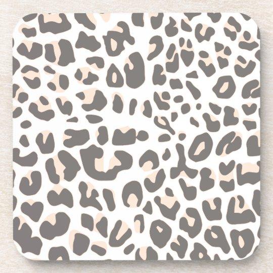 Fun Leopard Print Coaster