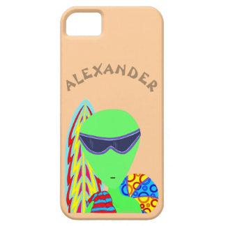 Fun LGM Alien Vacation ifoneSE Geek Humor iPhone SE/5/5s Case