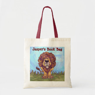 Fun Lion Personalized Book Bag