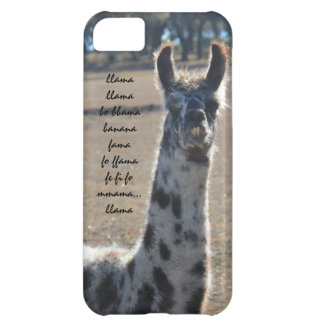 Fun llama iPhone with banana song (llama llama...) iPhone 5C Case