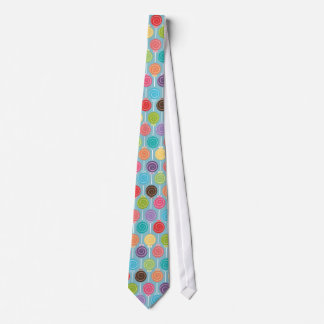 Fun Lollipop Pattern  / Pick your Background Color Tie