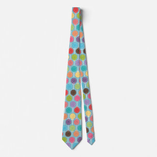 Fun Lollipop Pattern  / Pick your Background Color Tie