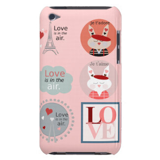 Fun Love and Romance Case-Mate iPod Touch Case