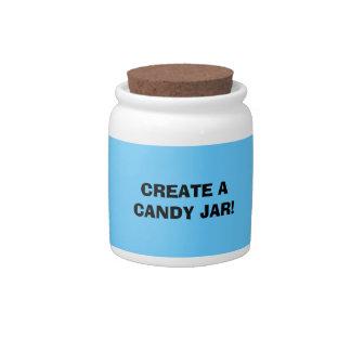 Fun! Make a CANDY JAR! Candy Jar