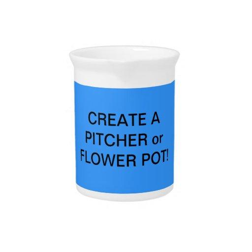 Fun! Make a FLOWER VASE or PITCHER!