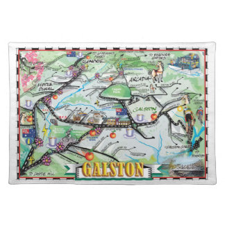 Fun map of Galston, NSW Placemat