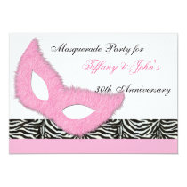 Fun Masquerade party Invitation