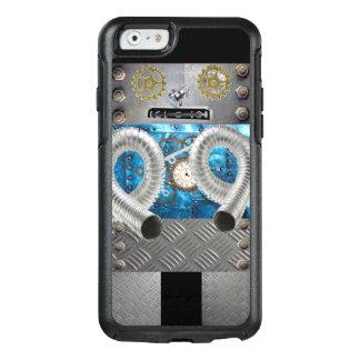 Fun Metal Robot Sci Fi Iphone Case