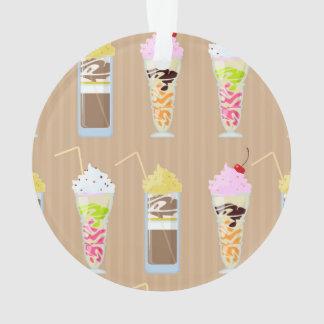 Fun Milk Shake Design Ornament