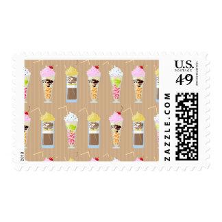 Fun Milk Shake Design Stamp