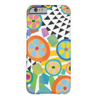 Fun Millefiori Abstract Garden Print Barely There iPhone 6 Case