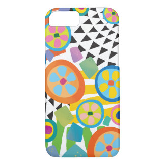 Fun Millefiori Abstract Garden Print iPhone 7 Case