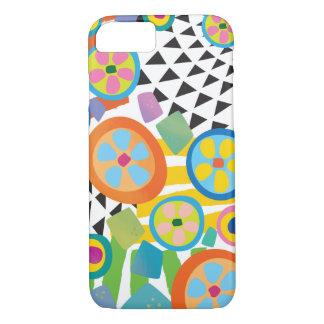 Fun Millefiori Abstract Garden Print iPhone 7 Case