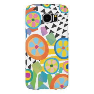 Fun Millefiori Abstract Garden Print Samsung Galaxy S6 Case
