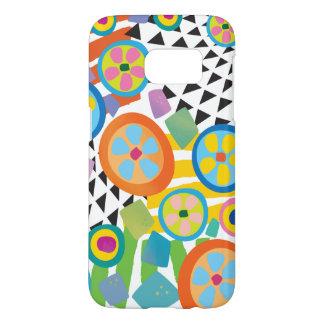 Fun Millefiori Abstract Garden Print Samsung Galaxy S7 Case