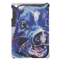 FUN Mini Pig Farm pet pop art painting Cover For The iPad Mini