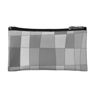Fun Mirror Checks Cosmetic Bag