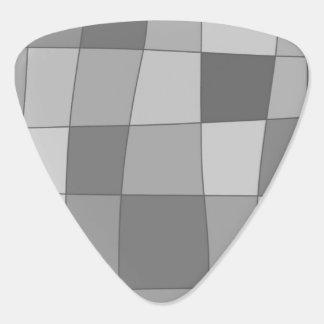 Fun Mirror Checks Guitar Pick