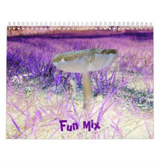 Fun Mix-Multi-Designs-Calendar Calendar